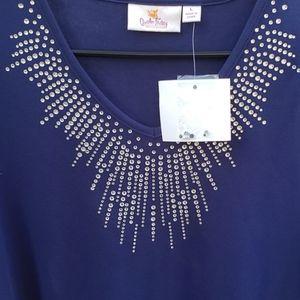 🆕️Quaker Factory Sparkle and Shine T-Shirt